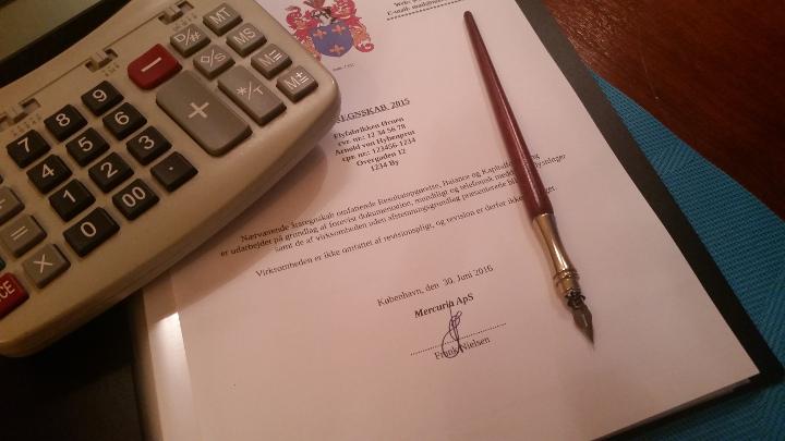 Revisor udarbejder årsregnskab og selvangivelse for selvstændige og selskaber