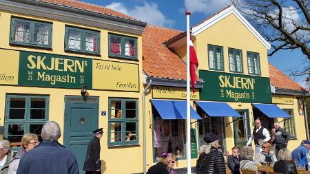 Skjerns Magasin i Korsbæk er en beretning om iværksætteri og start af virksomhed i Danmark.